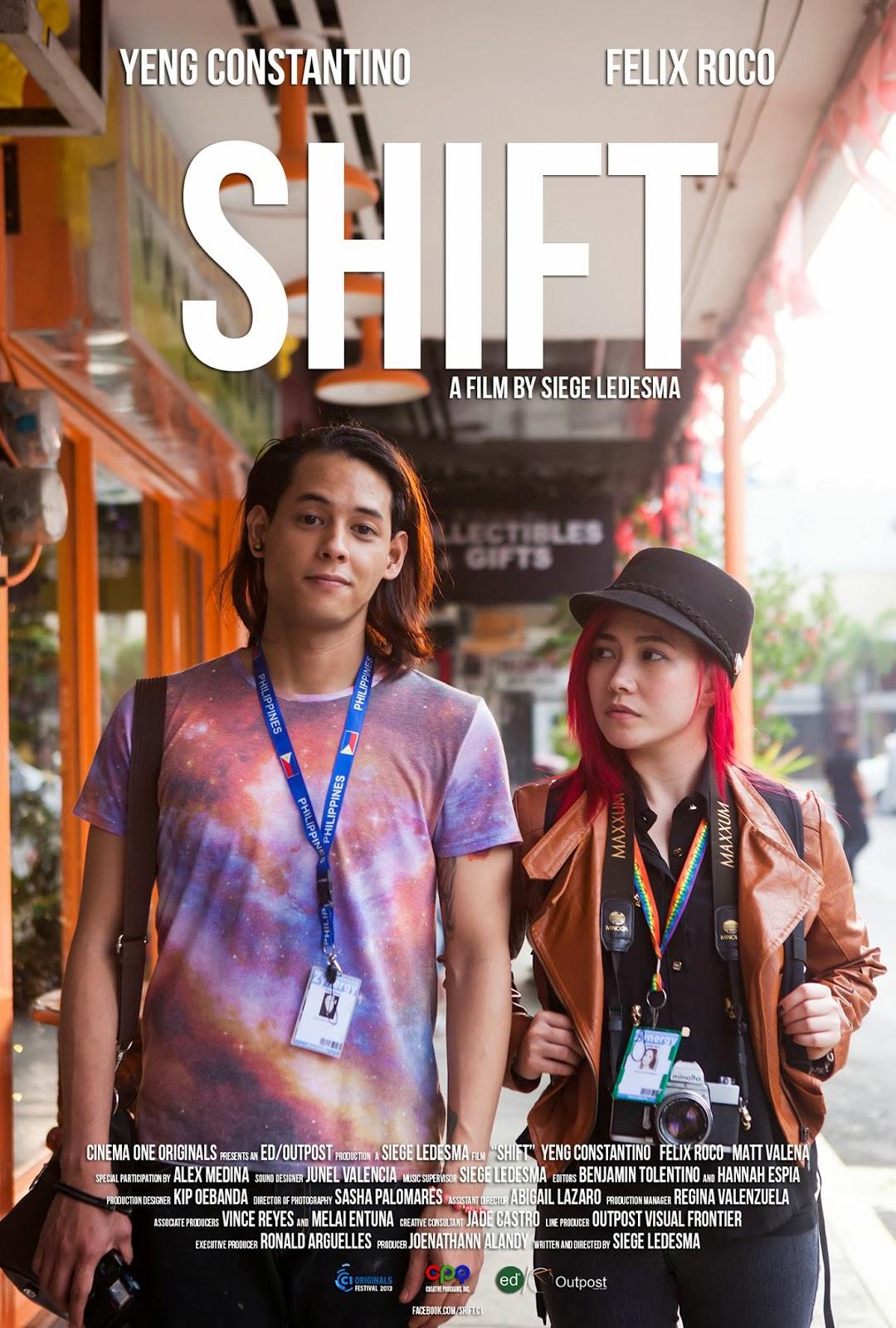 フィリピン映画『シフト』のオリジナルポスター1